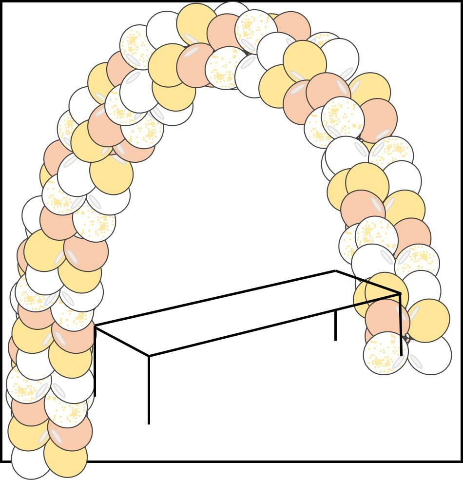 Enfilez vos ballons en réalisant un quart de tour !
