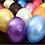 Thumbnail: Ballons Perle Nacré Rose Fuchsia x 5
