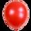 Thumbnail: Ballons Perle Nacré Rouge x 5