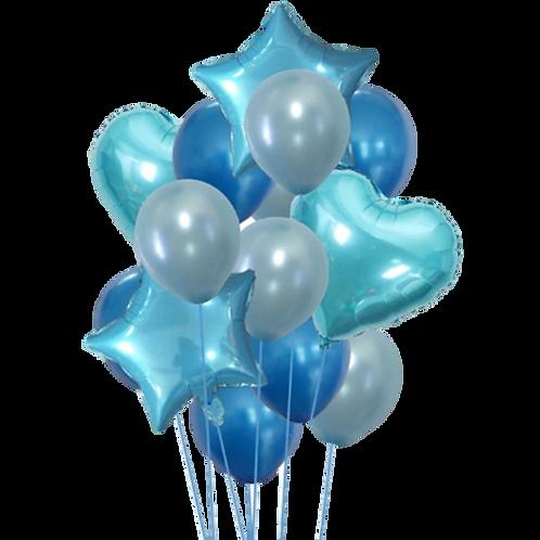 Pack Ballons Bleus