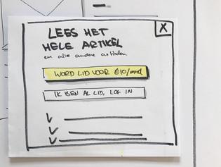 Waarom hebben jouw stakeholders iets aan prototyping?