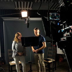 Heather Manzano and Christian Simpson
