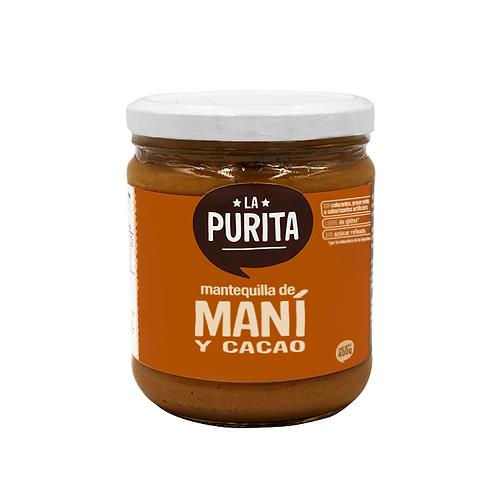 Mantequilla de Mani y Cacao 410g