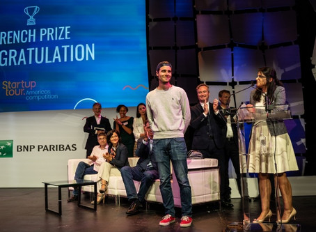 Ubees, a precision beekeeping startup, is the winner of the Startup Tour Americas's French Prize.