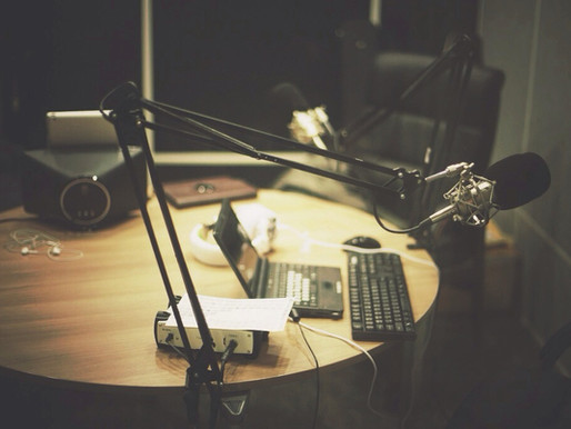 Behind the recording studio walls