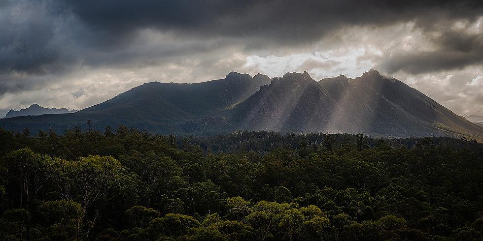 Photographie de paysage en Tasmanie par le photographe Pierre Destribats lors d'un stage photo