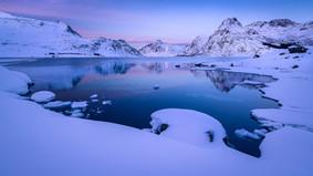 Peaceful fjord