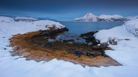 Fjord at dusk II