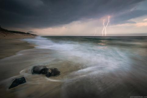 Soirée orageuse