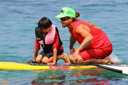 Hawaii lifeguard surf