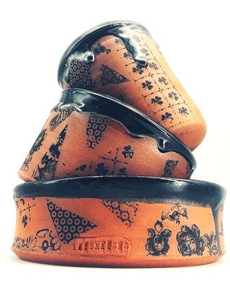 AUTARCIE  - Ensemble de pots de conservation