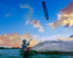 Flysurfer Kiteboarding. Flysurfer Kites. Kitesurfer. Sabrina Parisi