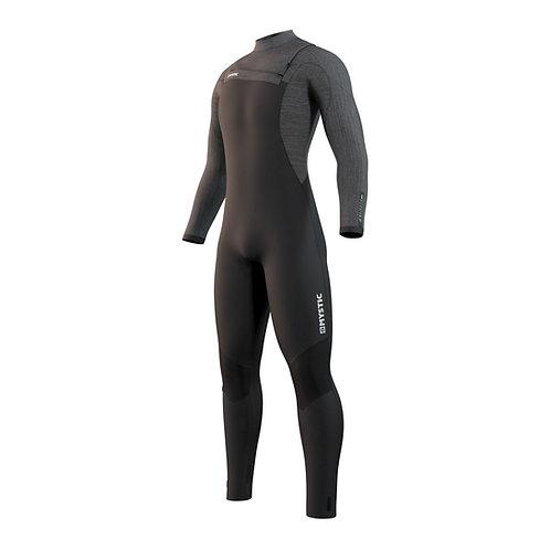 Majestic Fullsuit 3/2mm Fzip Wetsuit - Black