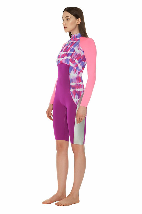 GLIDESOUL SPRING WETSUIT 2 MM PINK & PURPLE