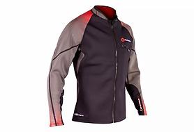 1.5mm Men's SUPreme REACH Wetsuit Jacket - Front Zip