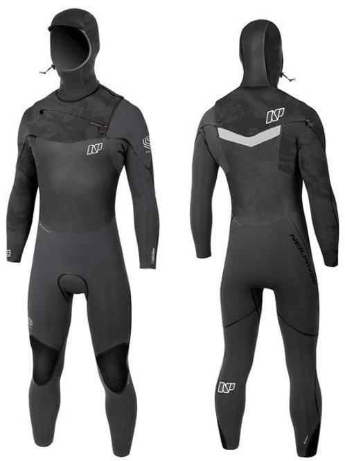 NP Recon 64 FZ Hooded Wetsuit