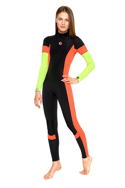 SIGNATURE COLLECTION 3 MM FULL WETSUIT BACK ZIP