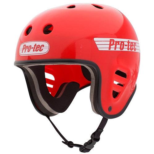 Pro-Tec Helmet Full Cut Water - Gloss Red (2018) w/clip