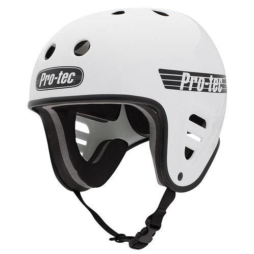 Pro-Tec Helmet Full Cut Water - Gloss White (2018) w/clip