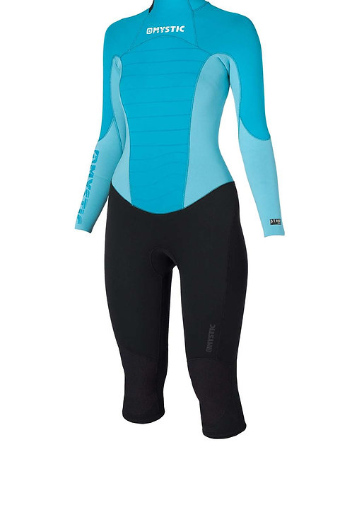 SALE!! Mystic Star Ladies 4/3mm Short Leg Steamer Wetsuit Mint