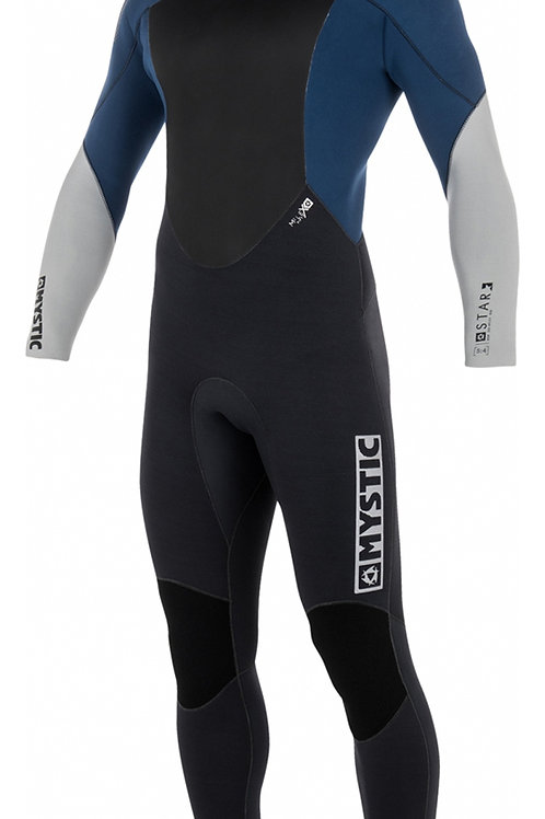 2018 Mystic Star 5/4mm Back Zip Wetsuit NAVY