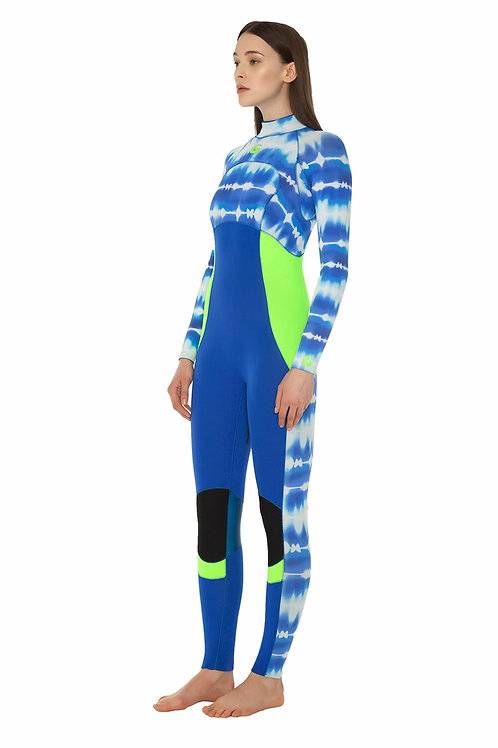 Glidesoul Collection 3MM Full Wetsuit Back zipper