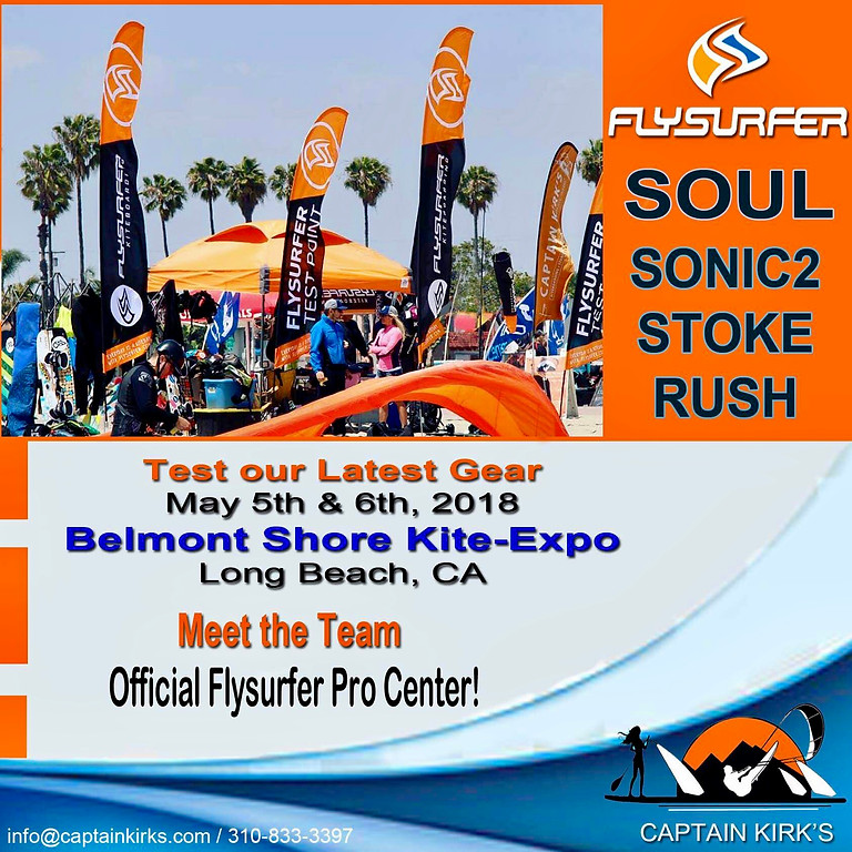 Flysurfer SOUL Event May 5th & 6th - Belmont Shore Kite Expo