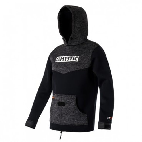 Mystic Voltage Sweat Jacket-Black