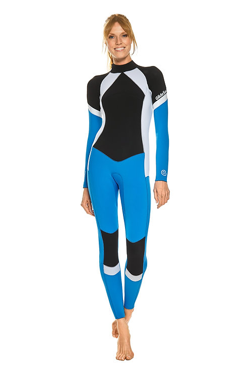 GLIDESOUL Flashback 74 Collection 3 mm Full Wetsuit back zip