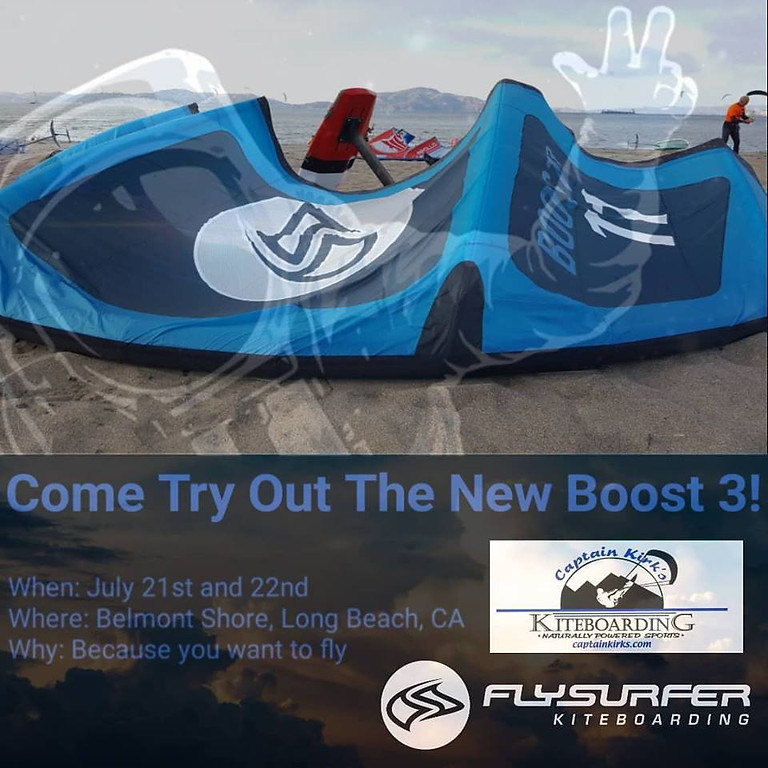 Boost Your Summer Sessions with our newest BOOST3 LEI Kite