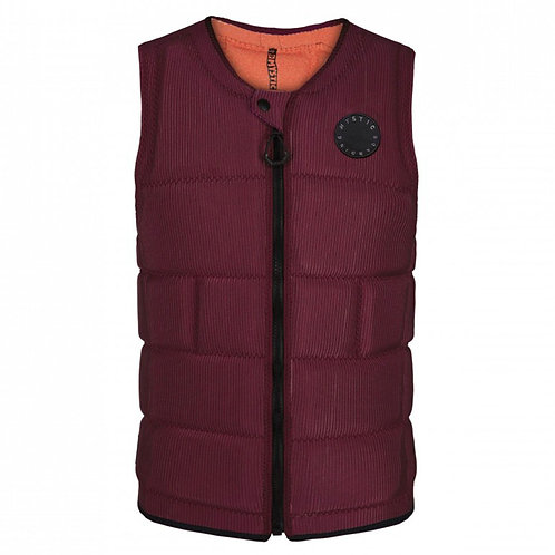 Mystic 2021 The Dom (Oxblood Red) Impact Vest -LARGE
