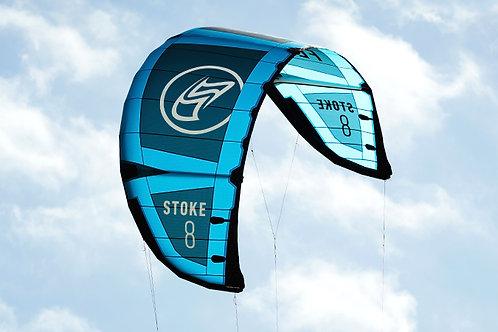 Flysurfer STOKE2 - 3 Struts LEI Kite - Kitesurfing