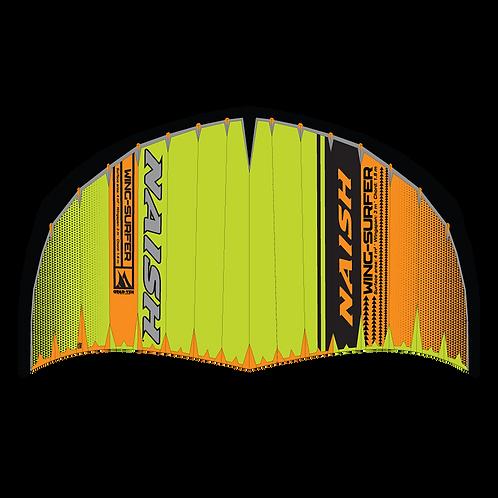 2020 NAISH WING-SURFER 4m (Quad-Tex) Green/Orange