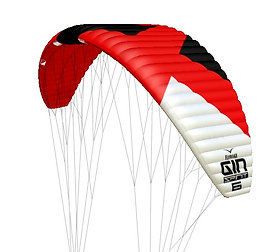 GIN/FLYMAAX SPIRIT Foil Kite Kitesurfing - Freeride - BigAir