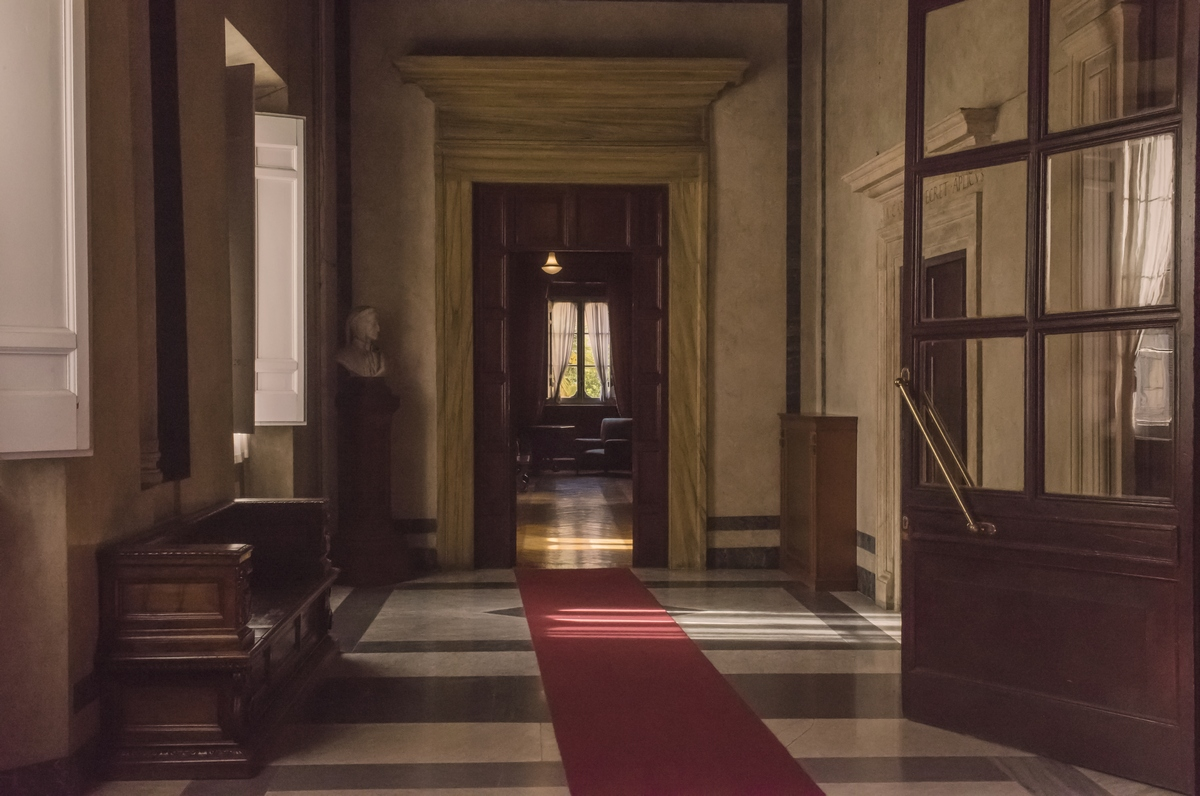 Rome, Palazzo Firenze, 4.30 pm