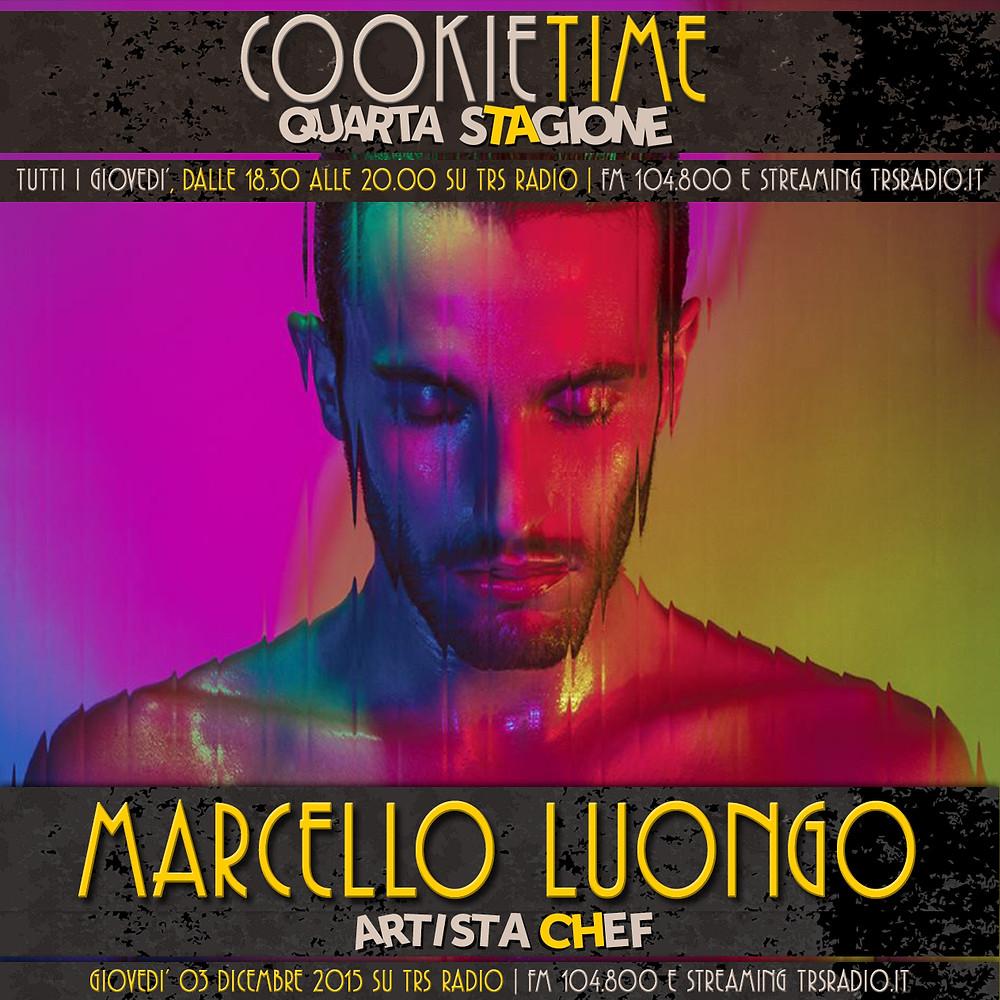 Matt Garro e Cookie Time con Marcello Luongo, Artista Chef del giorno!