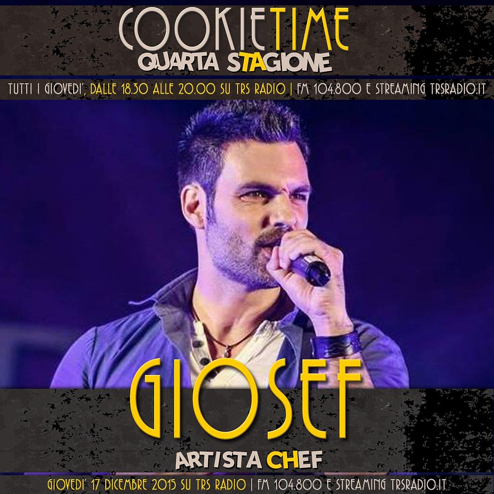 Una puntata Nataliza per Cookie Time, Matt Garro con Giosef, artista chef!