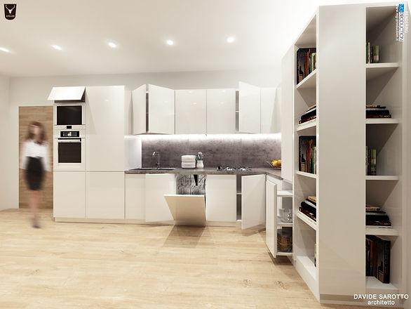all bagno cucina esterno soggiorno soggiorno e cucina. progetto ...