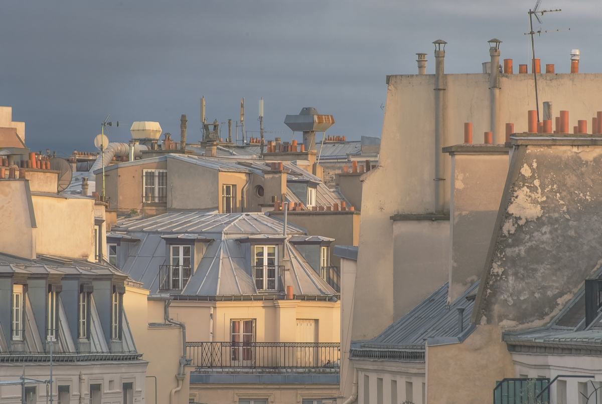 Paris, Faubourg Montmartre, 6.30 pm