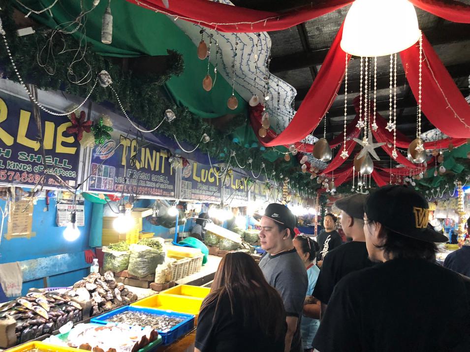 マニラの市場