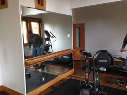 Workout Room Mirror