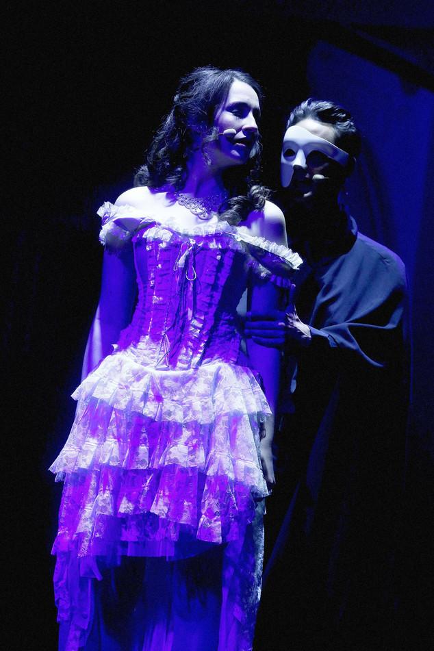Andreja Zidaric als Christine im Konzert Foto: Event Design d.o.o.