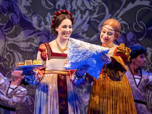 Andreja Zidaric als Violanta in der Welturaufführung des Musicals DIe Schattenkaiserin Foto: Rupert Larl