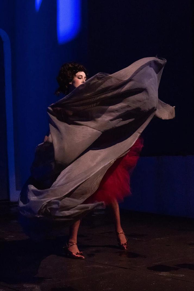 Andreja Zidaric als Rosina in Il Barbiere di Siviglia Foto: Valentin Blüml