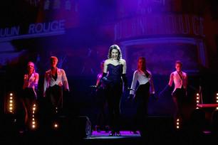 Andreja Zidaric als Satine im Konzert Foto: Event Design d.o.o