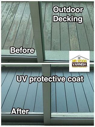 Outdoor Decking Repairs Varnishing