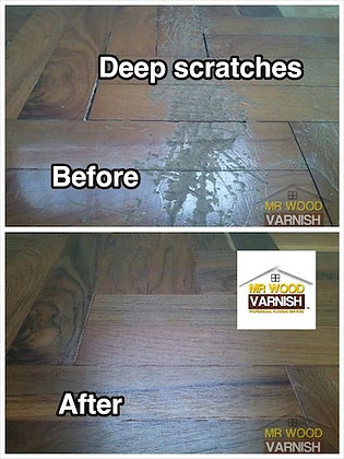 Parquet Flooring Repairs Deep Scratch Dents
