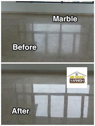 Marble Polishing on Dullness
