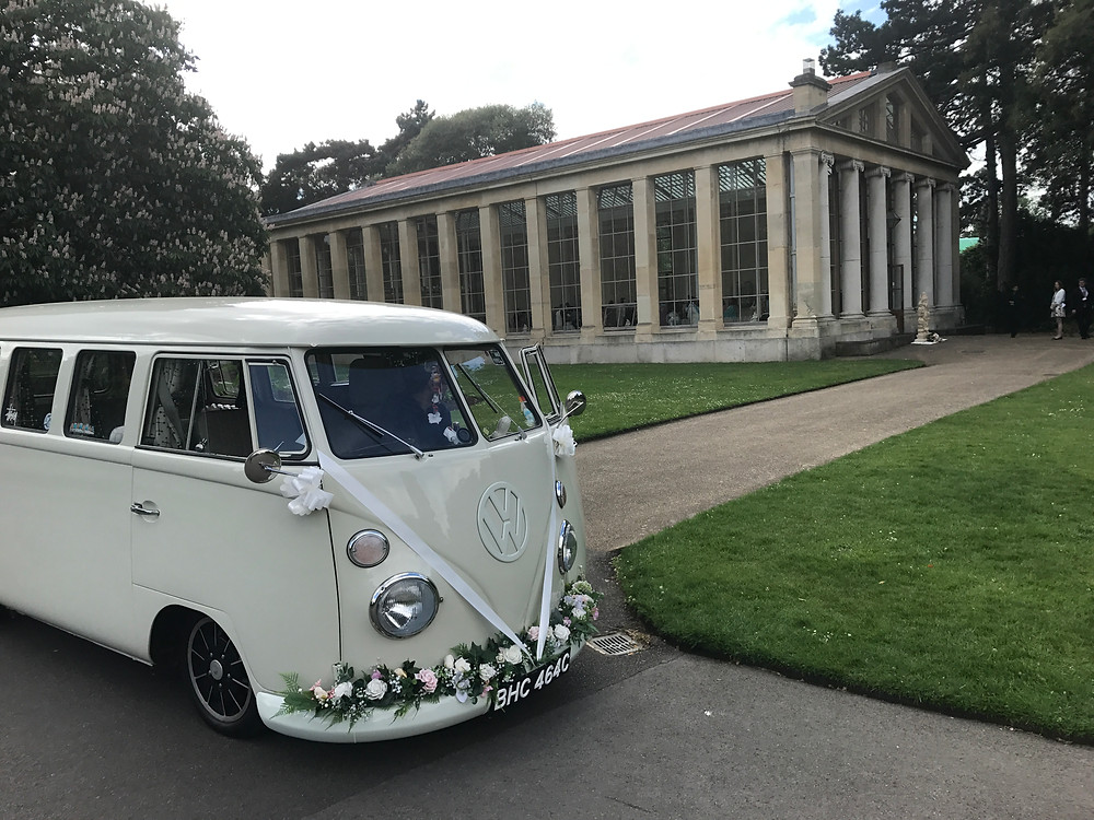 vw wedding camper van