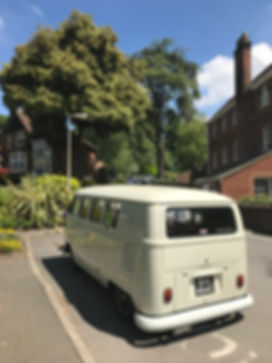 vintage wedding car hire in gravesend